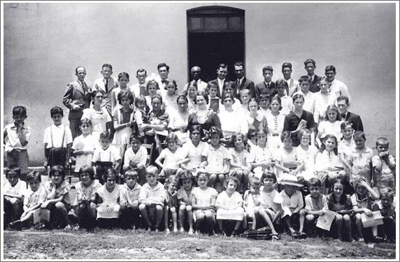 Templo da Rua Siqueira Campos em 1938