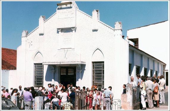 Primeiro templo na Prudente de Moraes