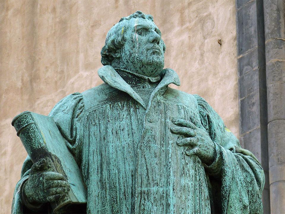 Estátua de Lutero