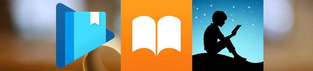 Aplicativos leitores de e-Books