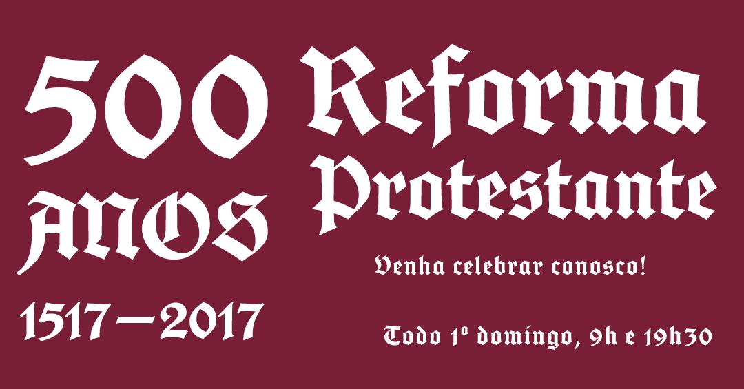 Post Reforma 500 anos